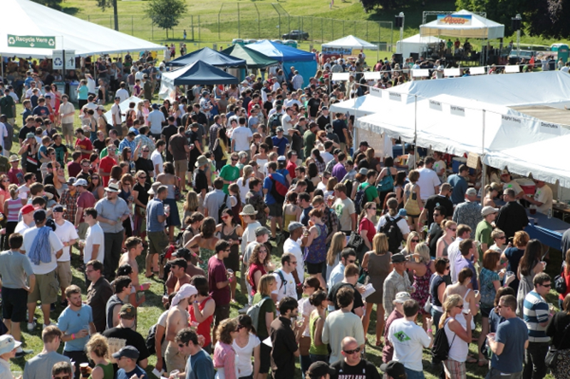 The north american organic brewers festival in portland or for Holiday craft fairs portland oregon