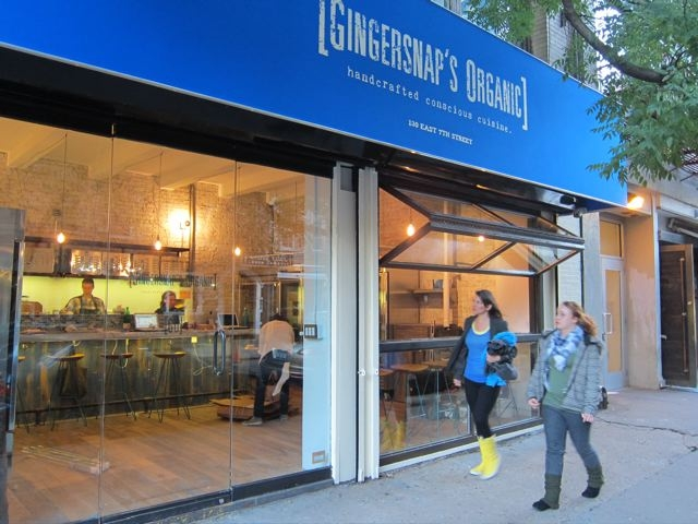 Light And Delicious Food At Gingersnaps Organic In Nyc