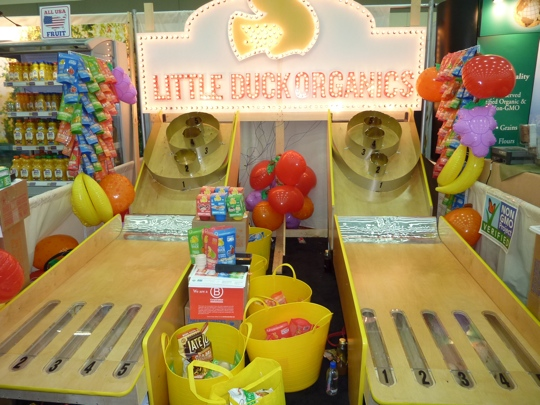 Trade Show Booth Visitors : Best trade show booth from expo east little duck organics