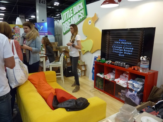 little-duck-organics-expo-west-2013-trade-show-booth