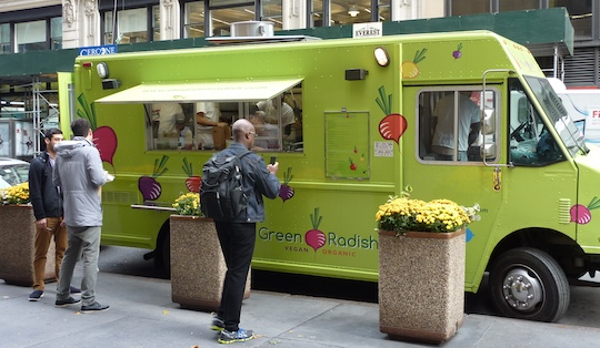 The Green Radish Organic Vegan Food Truck In Nyc Is Great