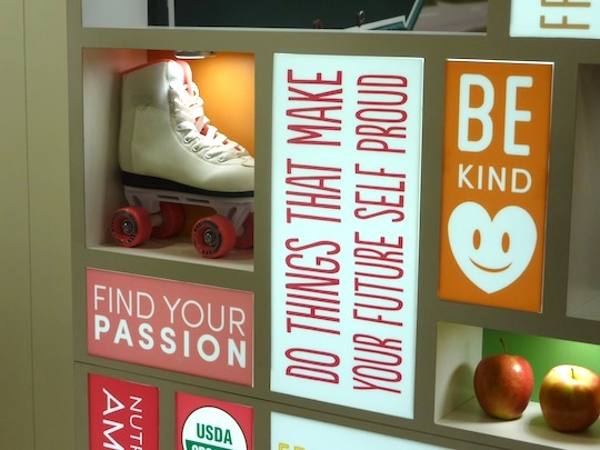 best-trade-show-booth-expo-west-suja-rollerskates