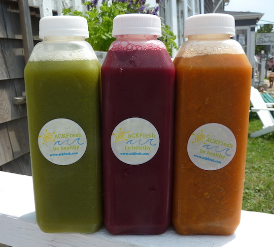 The Organic Food And Pressed Juice Scene In Nantucket