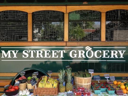 my-street-grocery-whole-foods-trolley-fruit-outside