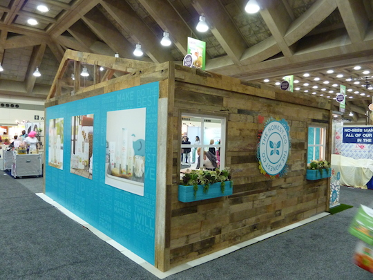 Exhibition Booth In : Best trade show booths from natural products expo east