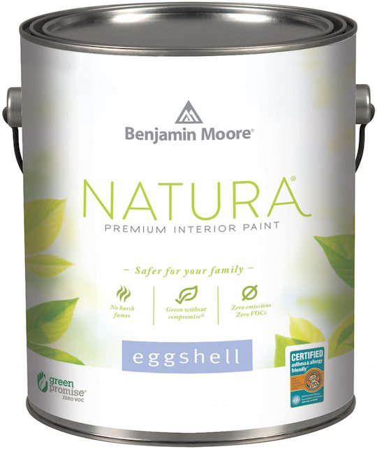 Non Toxic Interior Paint: Natura Paint By Benjamin Moore Is An Important Product