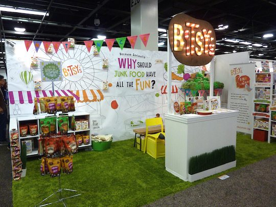 best-trade-show-booth-expo-west-2016-bitsys-brainfood