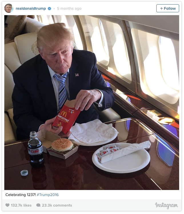 trump-eating-mcdonalds