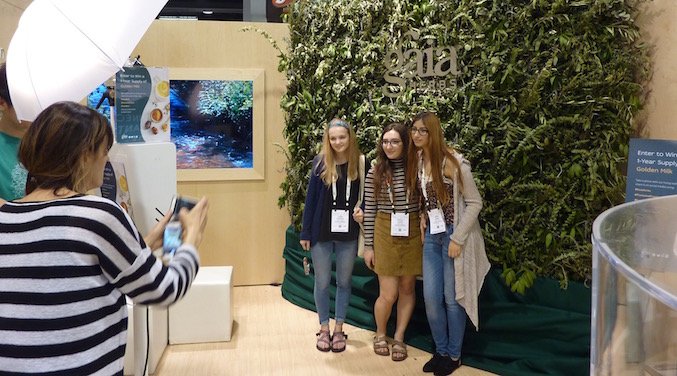 gaia-herbs-best-trade-show-booth-expo-west-2017-living-wall