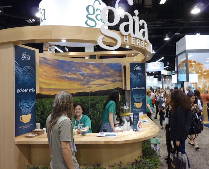 gaia-herbs-best-trade-show-booth-expo-west-2017