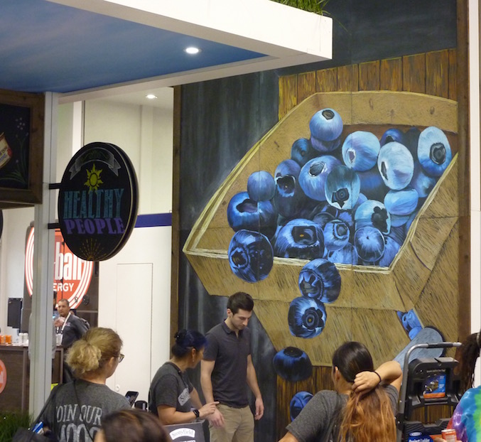 stonyfield-best-trade-show-booth-expo-west-2017-blueberries