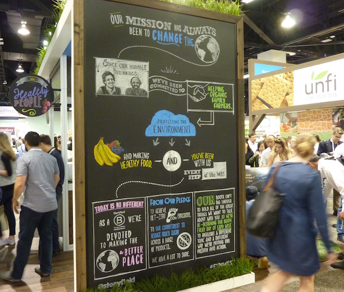 stonyfield-best-trade-show-booth-expo-west-2017-gary-hirshberg