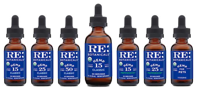 re Botanicals CBD Pills